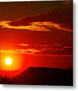 Another Beautiful Arizona Sunset Metal Print