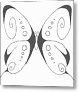 Another Butterfly Metal Print
