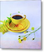 Another Cup Of Coffee Metal Print