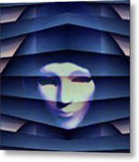 Another Face In The Crowd Metal Print