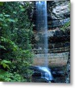 Another Munsing Waterfall Metal Print
