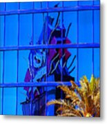 Another Rio Reflection Metal Print