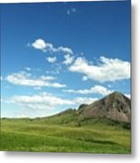 Another Side Of Bear Butte Metal Print