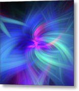Another Space. Mystery Of Colors Metal Print