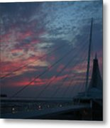 Another Sunrise At The Mam Metal Print