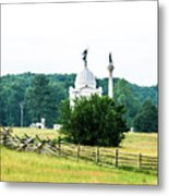 Another View Of The Pa Monument Metal Print