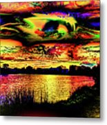 Another Wicked Sunset Metal Print