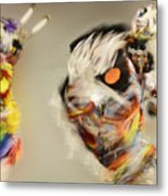 Pow Wow Another World Another Time Metal Print