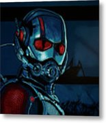 Ant Man Painting Metal Print