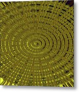 Ant Nest Abstract Fabric Design # 2 Metal Print