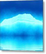 Antarctica Glacier Metal Print