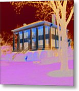 Antebellum Mansion Metal Print