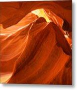 Antelope Canyon - The Wave Metal Print
