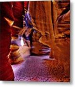Antelope Canyon Thirteen Metal Print