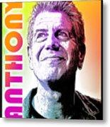 Anthony Tribute Metal Print