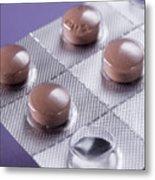 Anti-malarial Pills Metal Print by Sheila Terry