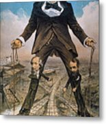 Anti-trust Cartoon, 1879 Metal Print