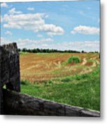 Antietam Farm Fence 2 Metal Print
