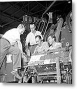Antineutron Discovery Team, 1956 Metal Print