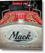 Antique 1930 Mack Bc-cd Fire Truck Metal Print