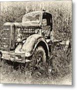 Antique 1947 Mack Truck Metal Print