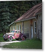 Antique Car Metal Print