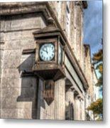 Antique Clock  Edenton North Carolina Metal Print