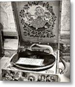 Antique Decca Gramophone By Kaye Menner Metal Print