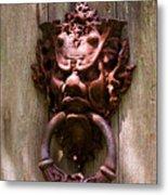 Antique Door Knocker Metal Print