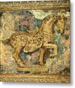 Antique Equine 2 Metal Print