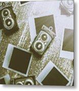 Antique Film Photography Fun Metal Print