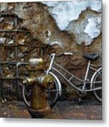 Antique Fire Hydrant 2 Metal Print