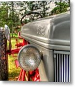 Antique Ford Tractor Metal Print