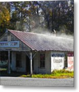 Antique Grocery Store Metal Print
