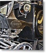 Antique Hearse Metal Print