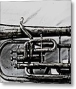 Antique Instrument  Metal Print