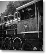 Antique Loco Metal Print