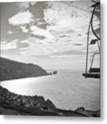 Antique Needles Isle Of Wight Metal Print