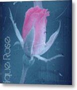 Antique Rose 3 Metal Print