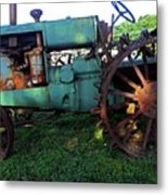 Antique Tractor 1 Metal Print