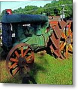 Antique Tractor 3 Metal Print