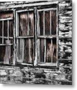 Antique Windows Metal Print