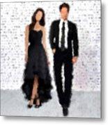 Antonia And Giovanni Metal Print by Nancy Levan