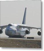 Antonov An 124 Cargolifter Plane Aircraft Metal Print