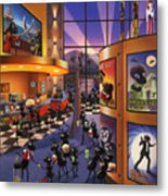 Ants At The Movie Theatre Metal Print