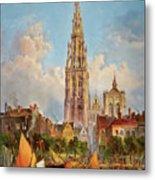 Antwerp Metal Print