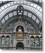 Antwerp Train Metal Print