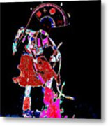 Apache Crown Dancer Metal Print