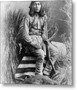 Apache Leader, 1885 Metal Print