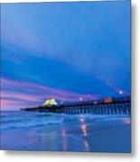 Apache Pier At Sunrise Metal Print